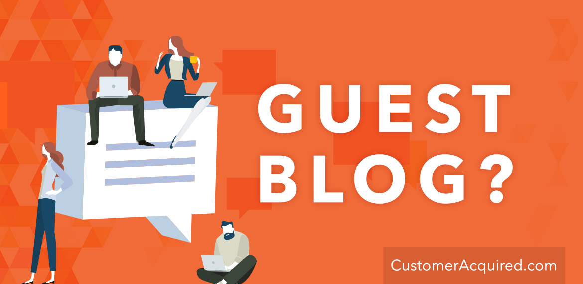 Start Guest Blogging To Increase Traffic and Sales