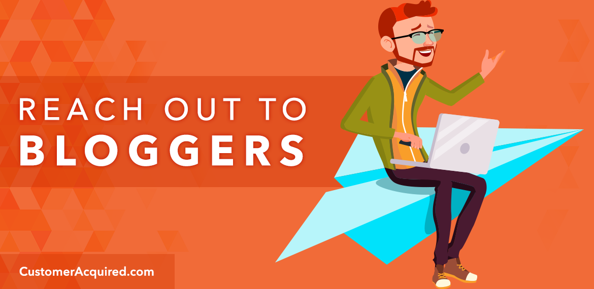 Reach out to bloggers for promotion opportunities