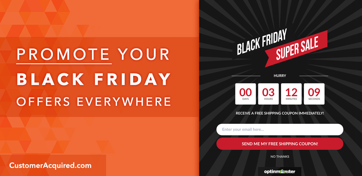 Promote Your Black Friday Offers