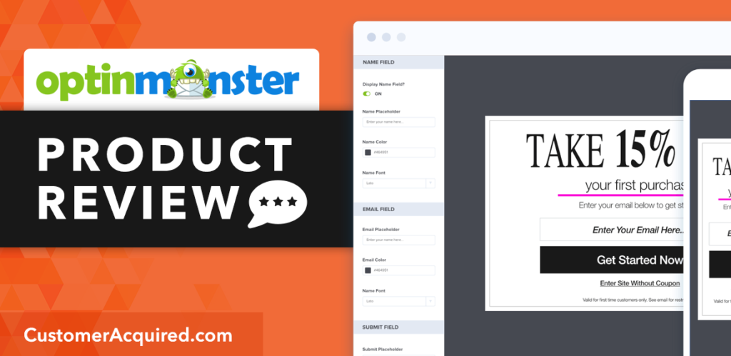 OptinMonster Email List Building Tool Review