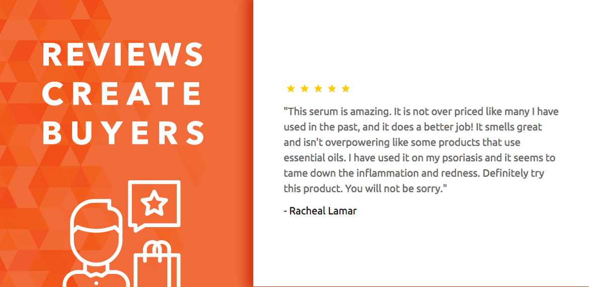Reviews and recommendations create buyers