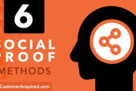 6 Social Proof Methods