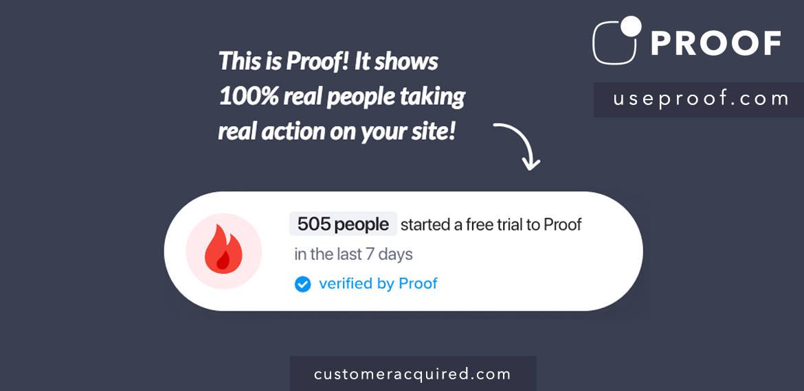 Use Social Proof To Improve Conversion Rates