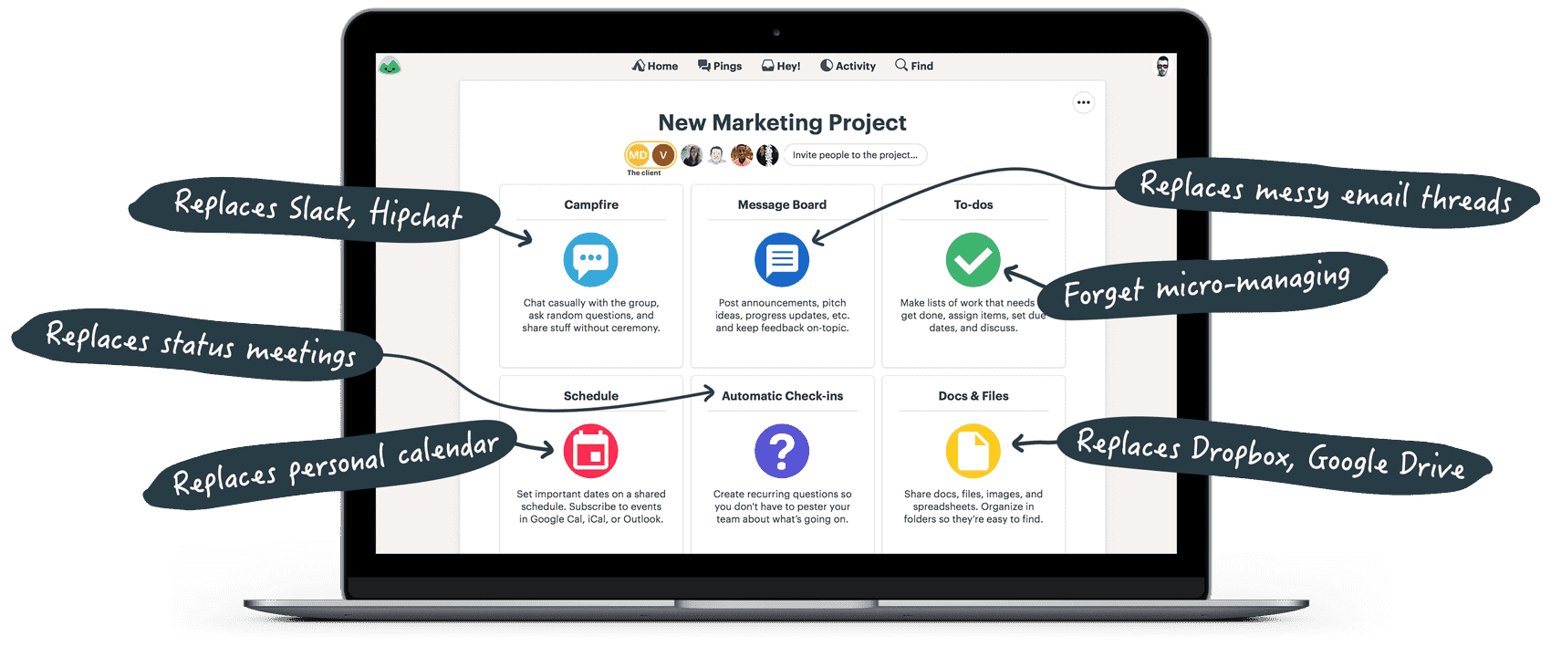 Basecamp Project Management Software