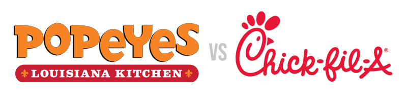 Popeyes vs chick-fil-a marketing