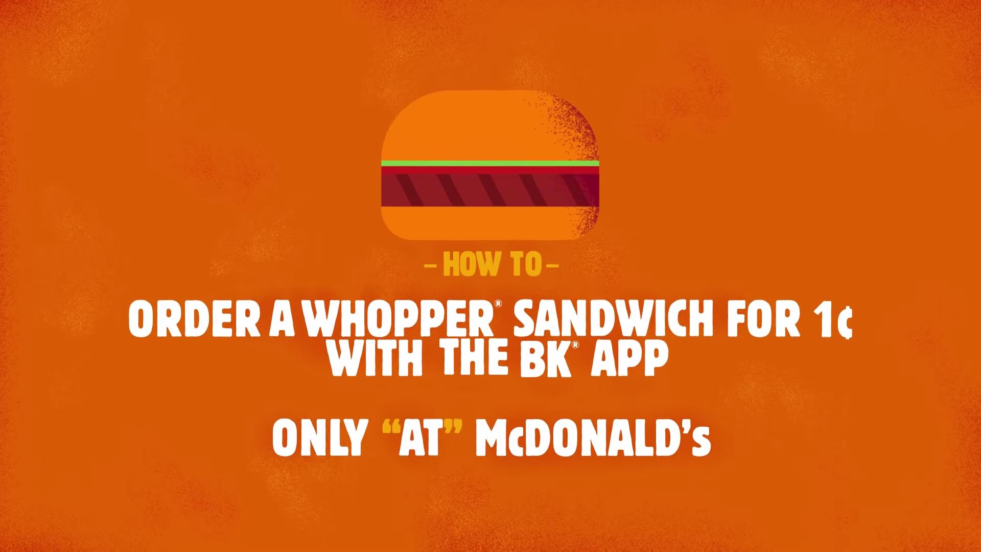 Burger King Detour PR Stunt