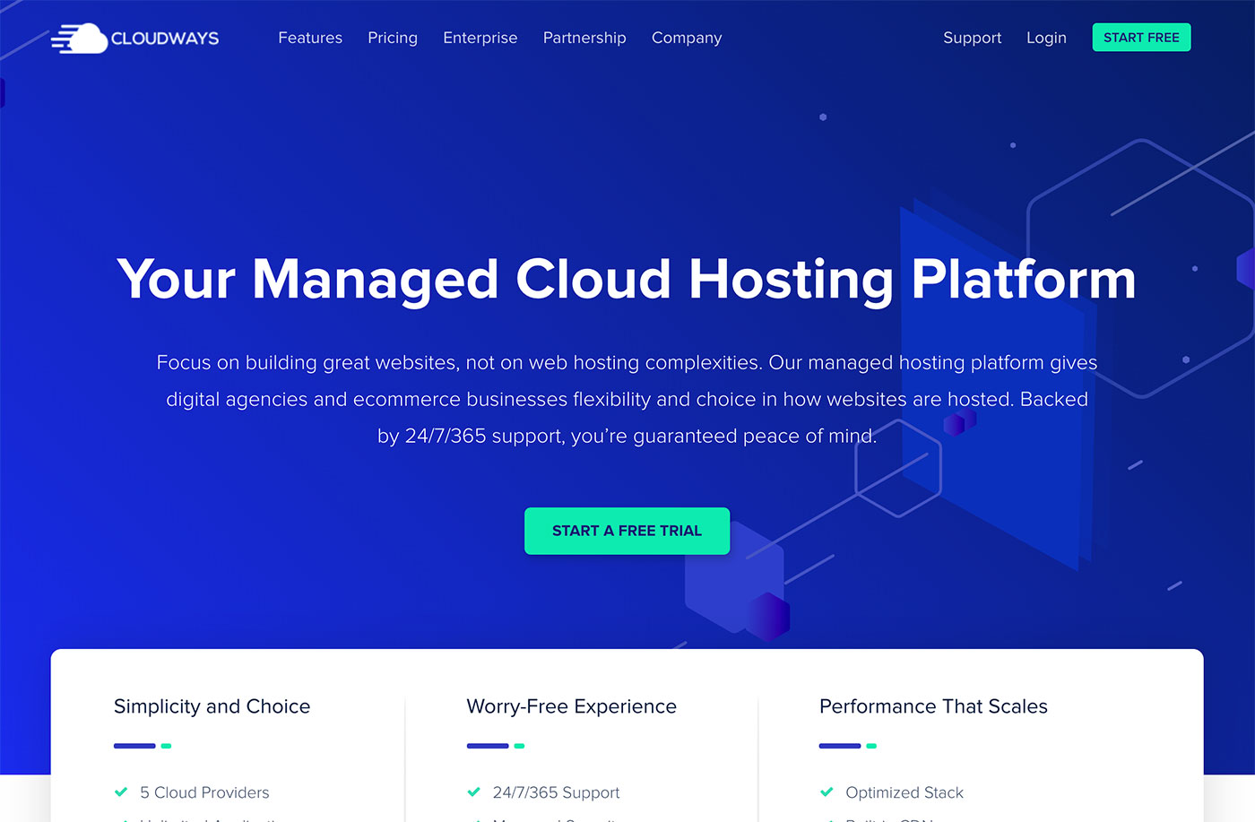CloudWays Website Hosting
