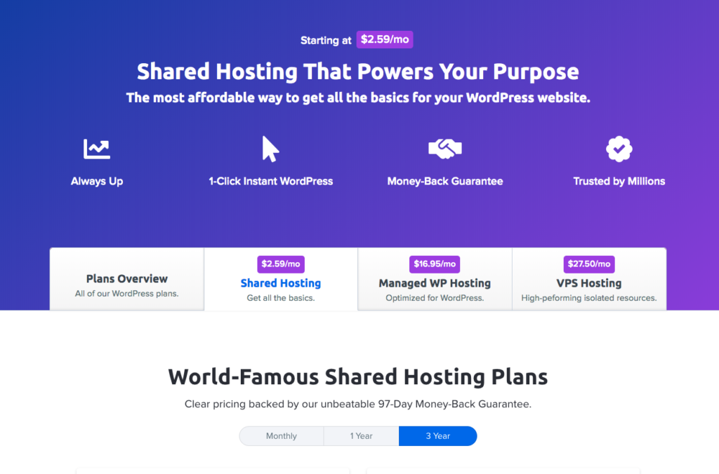 Dreamhost cheap web hosting