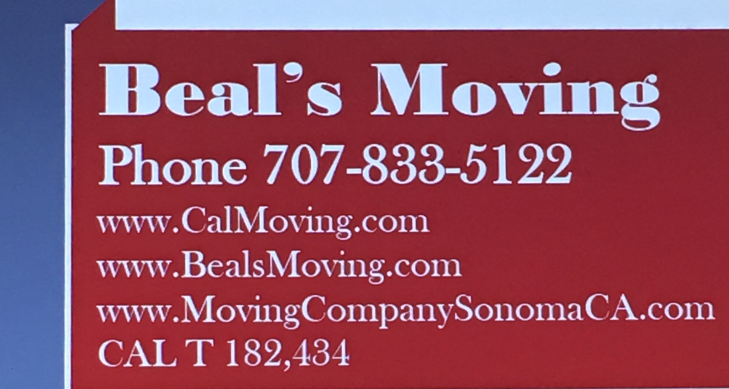 Beals Moving