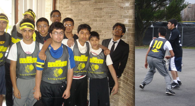 Before And After Intense Basketball! T-Shirt Photo