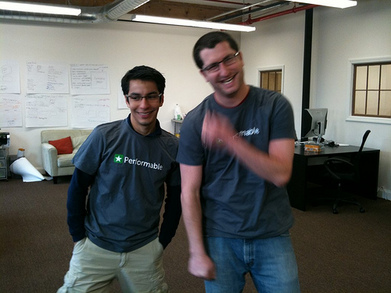 Josh And Elias Test Out The New Performable Shirts! T-Shirt Photo