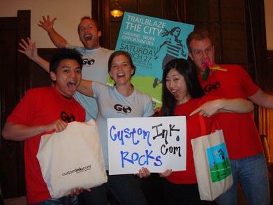 Go Trailblaze The City 10k Loves Customink T-Shirt Photo
