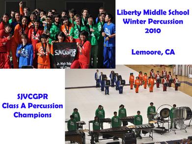 Liberty Winter Percussion T-Shirt Photo
