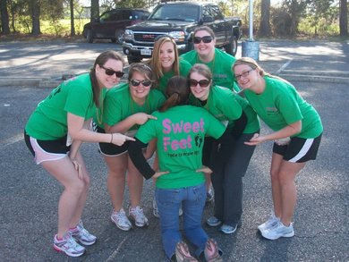 Team Sweet Feet T-Shirt Photo