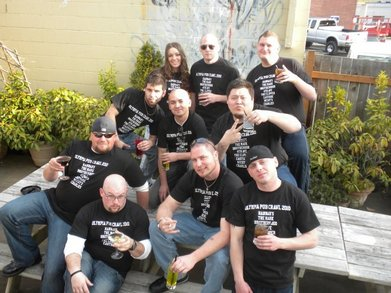 Olympia Pub Crawl 2010 T-Shirt Photo