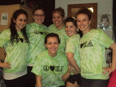 Peace.Love.Kappadelta T-Shirt Photo