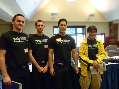 At 1st Traffic Bowl Competition T-Shirt Photo