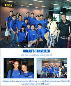Team Ocean's Traveller T-Shirt Photo
