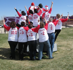 Rockin' The Zamboni & Cheering On Team Canada At Worlds!! T-Shirt Photo