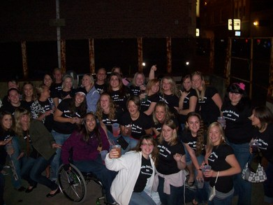 Ladies Pub Crawl T-Shirt Photo
