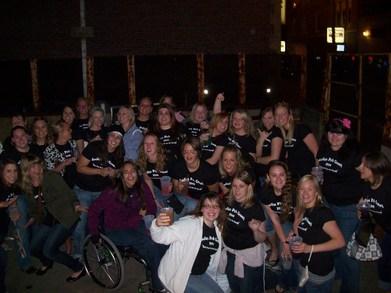 Ladies Pub Crawl T-Shirt Photo