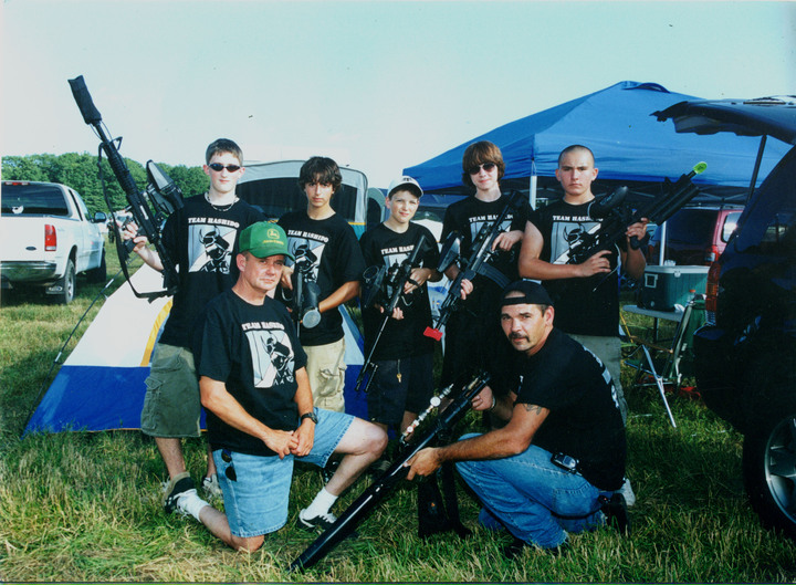 Team Hashido At Ion 2006 T-Shirt Photo