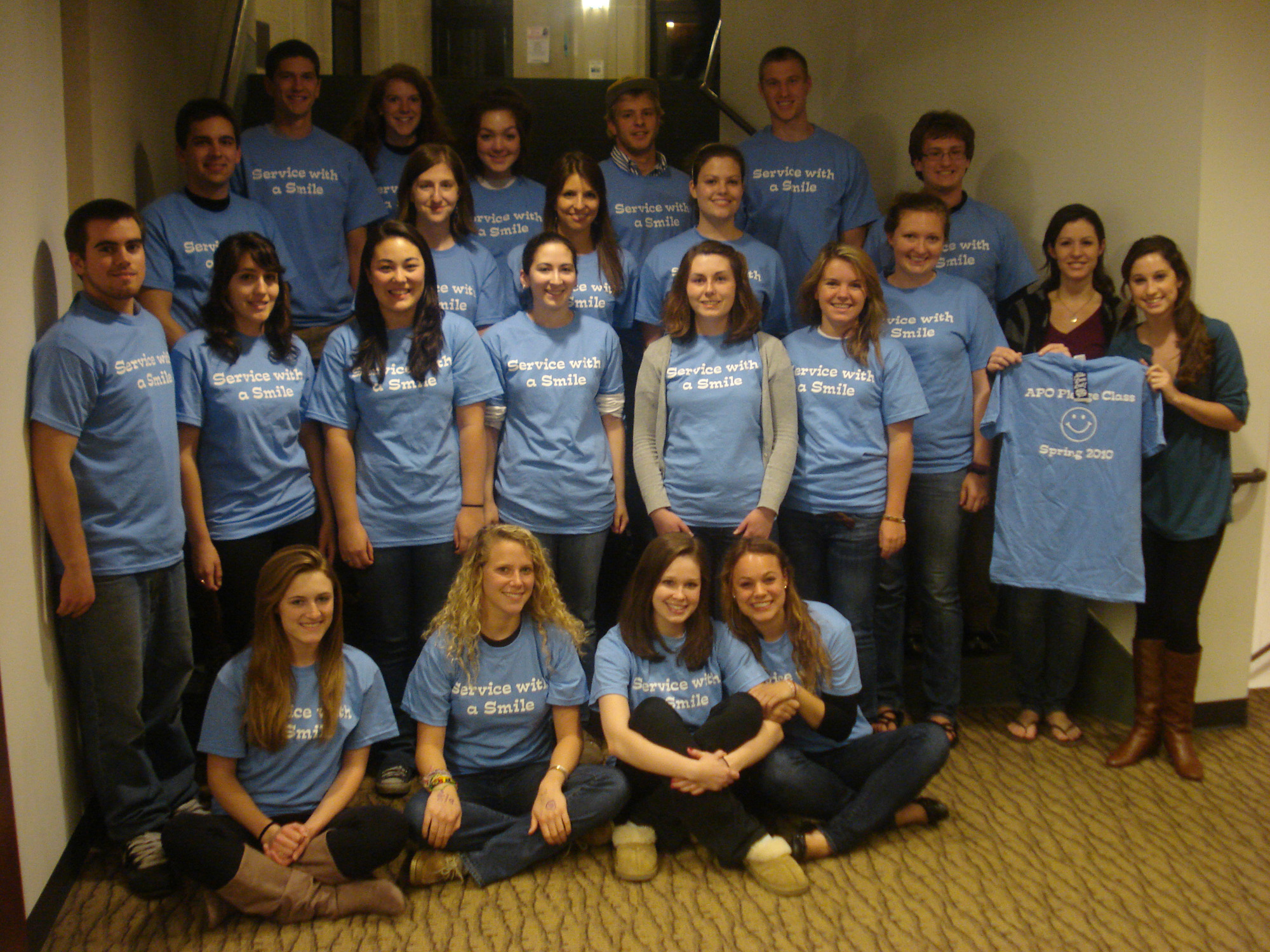 788cbfd46b Custom T-Shirts for Alpha Phi Omega Omicron Phi Chapter Pledge Class ...