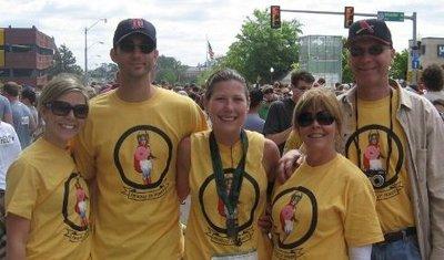Oklahoma City Memorial Marathon T-Shirt Photo