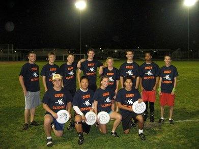 Csuf Ultimate Frisbee Team T-Shirt Photo