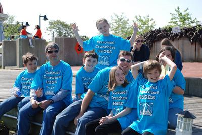 Winning Carousel Crunchers! T-Shirt Photo