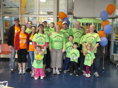 2010 Spring Sprint For The Brain Tumour Foundation T-Shirt Photo