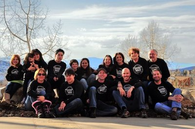 Four Families In Steamboat Springs T-Shirt Photo