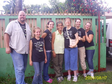 Jackie's House Missions Work T-Shirt Photo