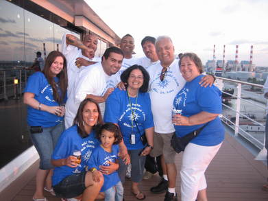 Family And Friends Cruise T-Shirt Photo