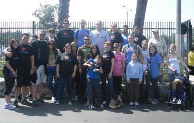 Hbic (Help For Brain Injured Children) Walks For Autism T-Shirt Photo