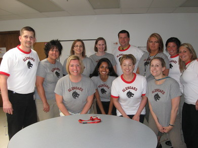 Happy School Staff T-Shirt Photo