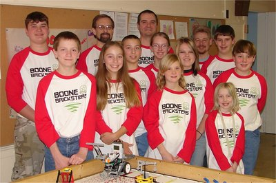 Boone Bricksters Lego League Team T-Shirt Photo