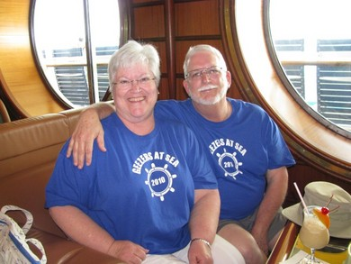 Geezers At Sea 2010 T-Shirt Photo