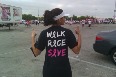 Team Martha   Susan G Komen Race T-Shirt Photo