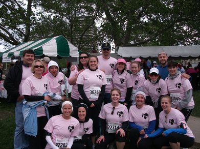 Team Rochelle 2010 T-Shirt Photo