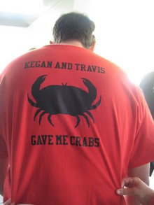Got Crabs T-Shirt Photo