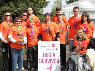 Susan G. Koman   Walk For The Cure!  Team Anfang T-Shirt Photo