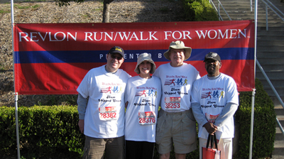 Revlon Run/Walk For Breast Cancer Research T-Shirt Photo
