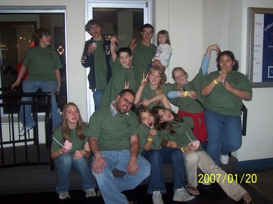 First Lutheran Youth A Middle School Retreat T-Shirt Photo