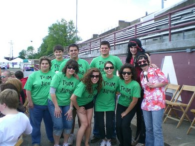 Team Jared  Relay For Life 2010 Boardman T-Shirt Photo