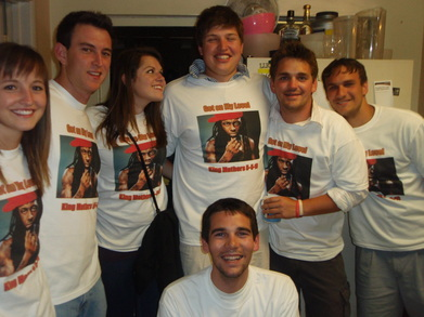 Nick's 21st Birthday! Get On My Level! T-Shirt Photo