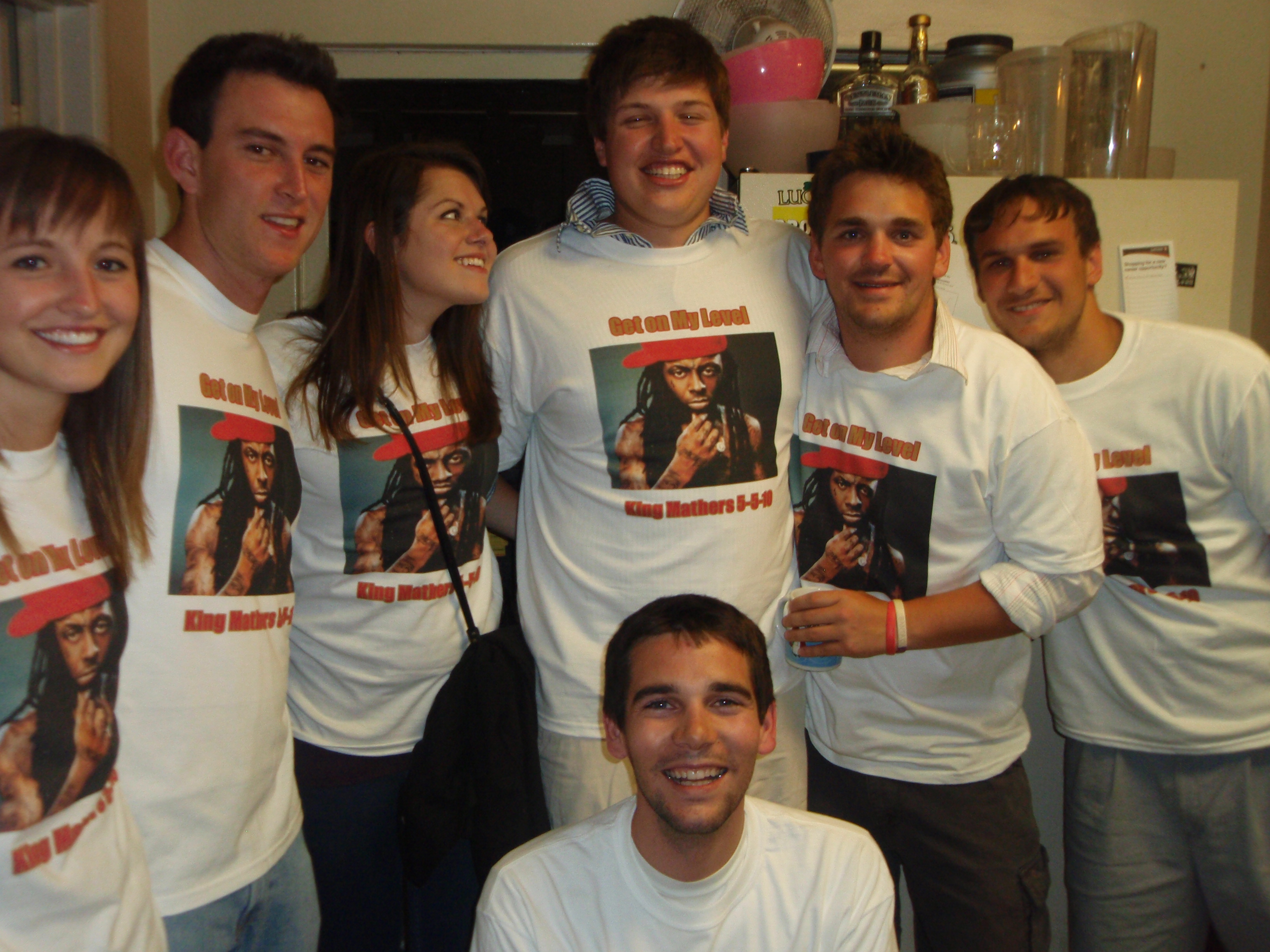 Nicks 21st Birthday Get On My Level T Shirt Photo