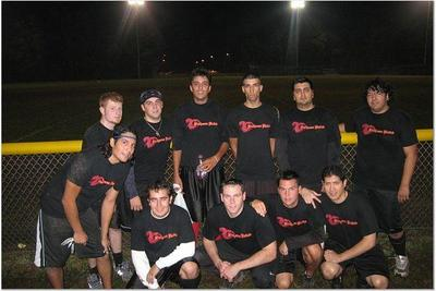 Firehouse United Flag Football Team T-Shirt Photo