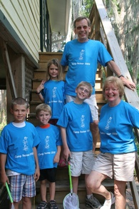 Camp Reimer   Where There's No Time Out T-Shirt Photo