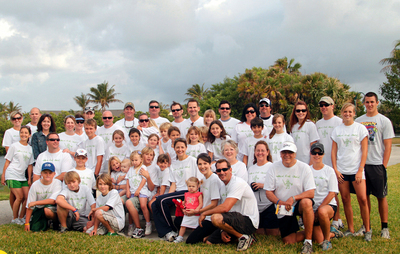 Cystic Fibrosis Walk In Jupiter Fl T-Shirt Photo